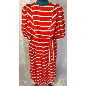 90's Liz Claiborne Sailor Dress